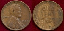 Us Coins - 1922-D  LINCOLN 1c   FINE