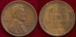 Us Coins - 1922-D  LINCOLN 1c   FINE