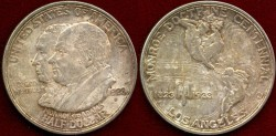 Us Coins - MONROE DOCTRINE 1923-S   50c ........  UNCIRCULATED