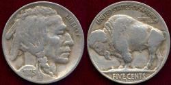 Us Coins - 1925-S BUFFALO NICKEL FINE+ ... BOLD DATE