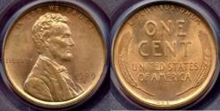 Us Coins - 1909-SVDB  LINCOLN 1c  PCGS MS64RD  PQ