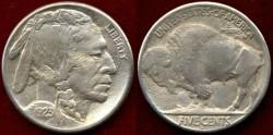 Us Coins - 1923-S BUFFALO 5c .....   VERY FINE