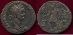 Ancient Coins - DOMITIAN as Augustus 81-96 AD  DUPONDIUS