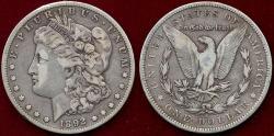 Us Coins - 1892-S  MORGAN $1   VF