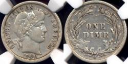 Us Coins - 1900-O BARBER 10c  NGC  VF30