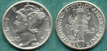 Us Coins - 1928-S 10c ....  VERY CHOICE UNCIRCULATED