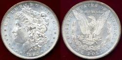 Us Coins - 1880-O MORGAN $1  FRESH MS62  WHITE