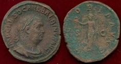 Ancient Coins - BALBINUS  238 AD .....  Sestertius