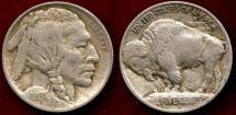 Us Coins - 1913 Ty1  BUFFALO 5c  VF