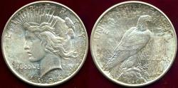 Us Coins - 1926-D PEACE DOLLAR..  MS64   BEAUTIFUL COLORS