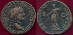 Ancient Coins - VESPASIAN 69-79 AD  DUPONDIUS
