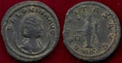 Ancient Coins - SALONINA 266-27 AD  Antoninianus