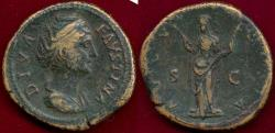 Ancient Coins - FAUSTINA SR. after 147 AD  SESTERTIUS