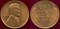 Us Coins - 1940-D  1c  GEM UNCIRCULATED