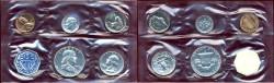 Us Coins - 1960 GEM  PROOF SET... in original envelope