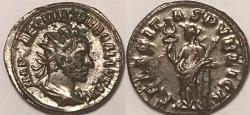Ancient Coins - Trebonianus Gallus AR (Silver) Antoninianus