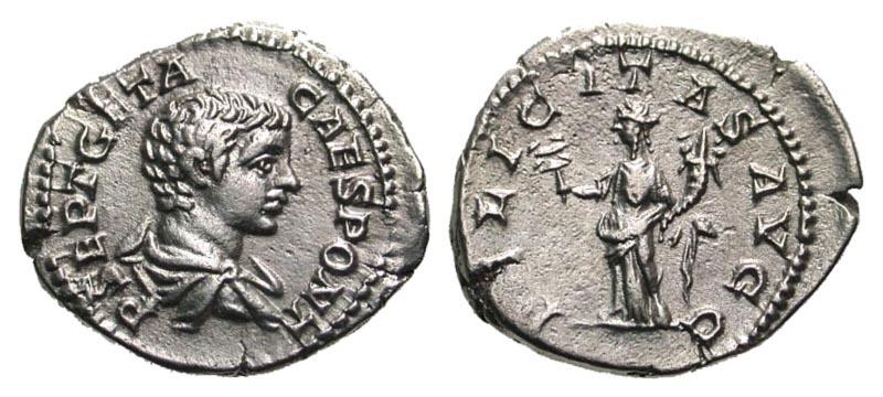 Ancient Coins - Geta AR (Silver) Denarius