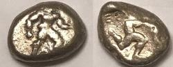 Ancient Coins - Aspendus AR (Silver) Stater--Interesting Variant