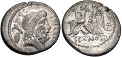 Ancient Coins - M. Nonius Sufenus AR (Silver) Denarius