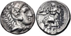Ancient Coins - Antigonos I AR (Silver) Tetradrachm--Struck in the name and types of Alexander the Great