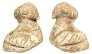 Ancient Coins - Stone Bird Amulet from Near East