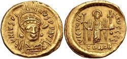 Ancient Coins - Justin I AV (Gold) Solidus--Nice