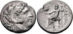 Ancient Coins - Bithynia, Herakleia Pontike AR (Silver) Tetradrachm--Scarce Type Struck in the Name and Types of Alexander III (The Great)