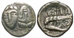 Ancient Coins - Moesia, Istros AR (Silver) Quarter Drachm--Possible Imitation