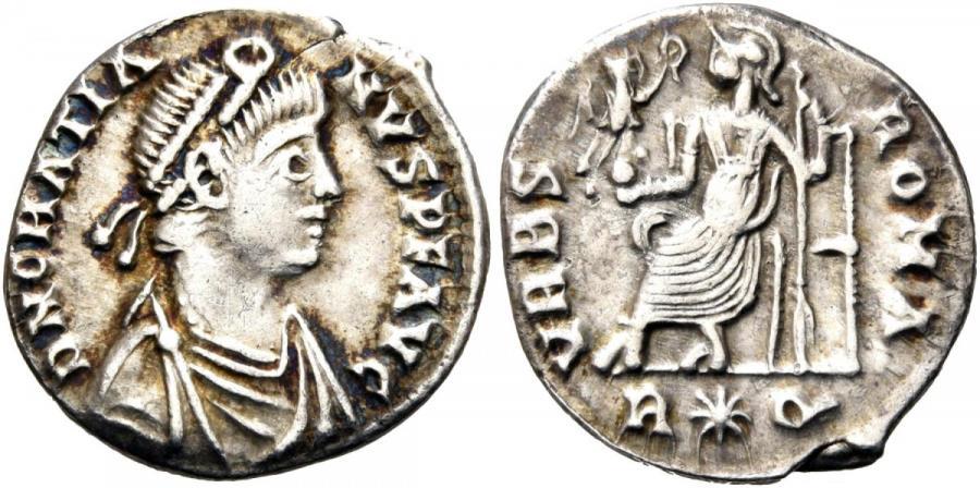 Ancient Coins - Gratian AR (Silver) Siliqua