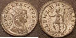 Ancient Coins - Tacitus AE Silvered Antoninianus--Very Nice
