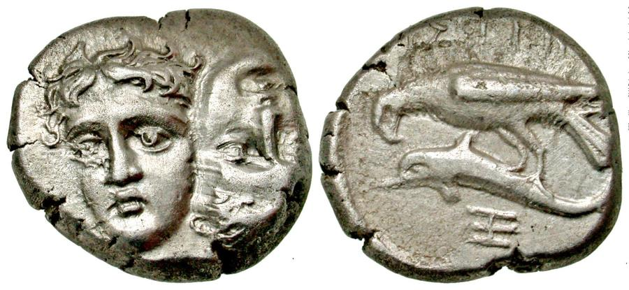 Ancient Coins - Moesia, Istros AR (Silver) Stater