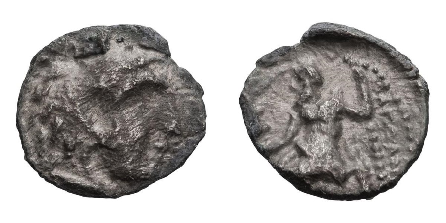 Ancient Coins - Alexander the Great (III) AR (Silver) Obol