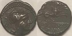 Ancient Coins - D. Iunius Silanus L.f. AR (Silver) Denarius