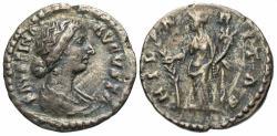Ancient Coins - Faustina II AR (silver) Denarius