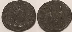 Ancient Coins - Valerian Billon Antoninianus