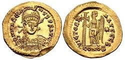 Ancient Coins - Marcian AV (Gold) Solidus--Superb and Lustrous