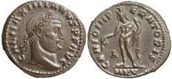 Ancient Coins - Galerius AE Follis--Superb