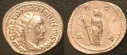 Ancient Coins - Trajan Decius AR (Silver) Antoninianus--Nice