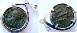 Ancient Coins - Probus AE Antoninianus set in silver bezel