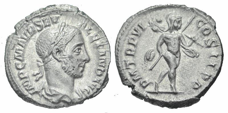 Ancient Coins - Severus Alexander AR (Silver) Denarius