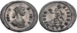 Ancient Coins - Probus Silvered AE Antoninianus--Fully Silvered!