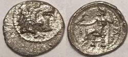 "Ancient Coins - Alexander III ""The Great"" AR (Silver) Obol--Scarce"