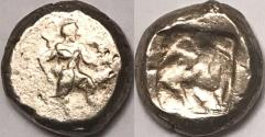 Ancient Coins - Pamphylia, Aspendos AR (Silver) Stater