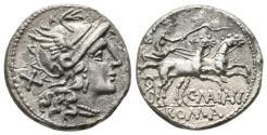Ancient Coins - C. Maianius AR (Silver) Denarius