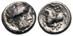 Ancient Coins - Celtic Philip II AR (Silver) Drachm