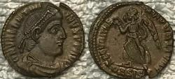 Ancient Coins - Valentinian I AE 3--Nice