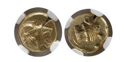 Ancient Coins - Lesbos, Mytilene EL (Electrum or Pale Gold) Hekte (Hecte)