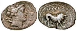Ancient Coins - Gaul, Massalia AR (Silver) Drachm
