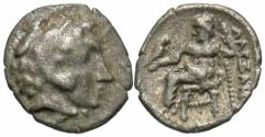 Ancient Coins - Alexander III (The Great) AR (Silver) Obol--Nice