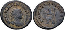 Ancient Coins - Macrianus AR (Silver) Antoninianus--Scarce Usurper